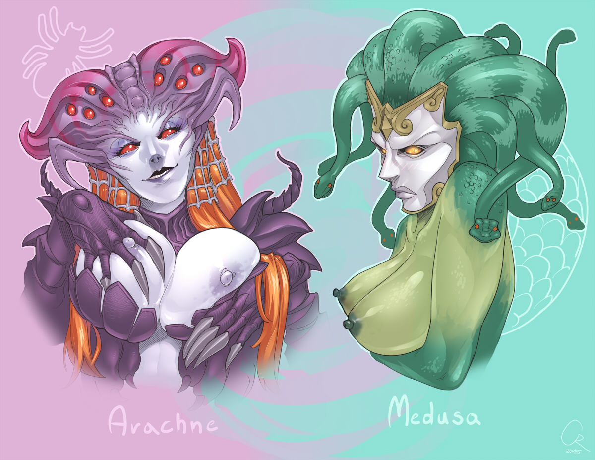 ArachneandMedusa7