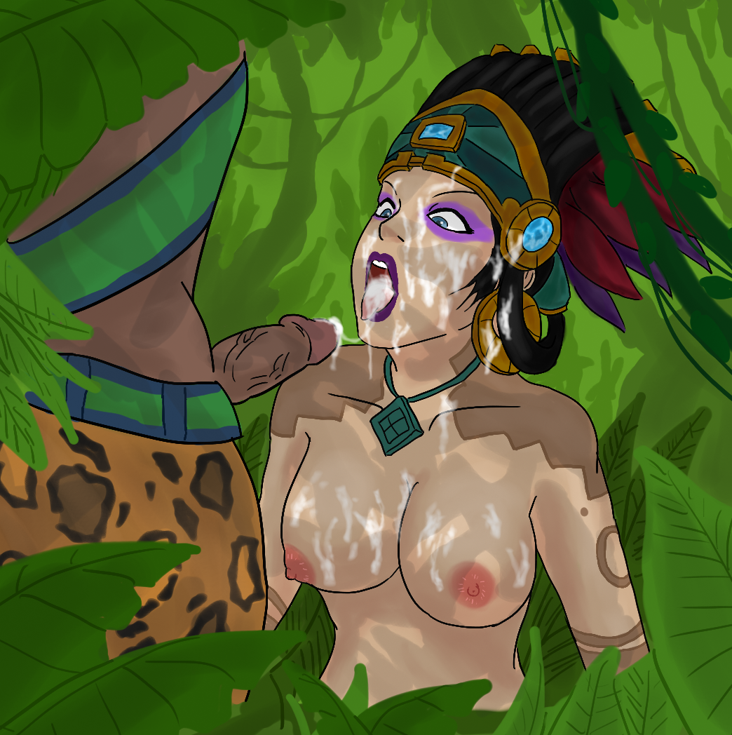Awilix and Xbalanque hentai