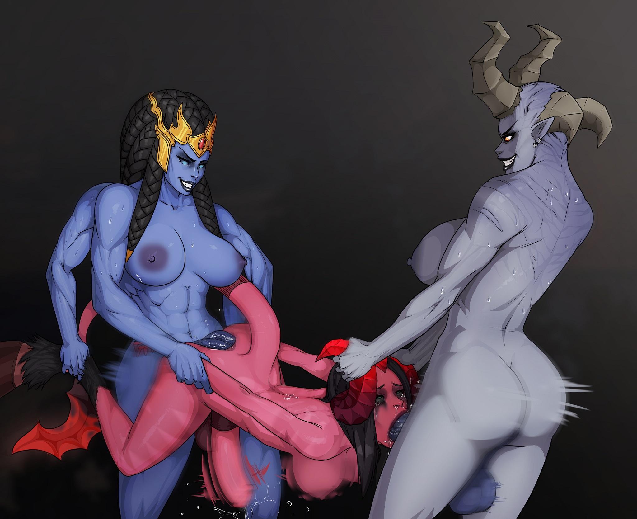Bellona Kali Serqet hentai